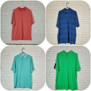 Nike Men's Golf Fit Dry Polo Shirt Lot of 4 XL